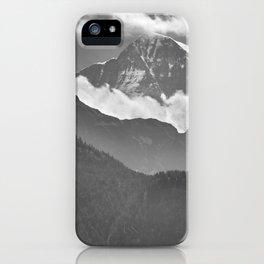 Lauterbrunnen Valley. Jungfrau Mountauin. 4.158 Meters. Swithzerland Alps iPhone Case