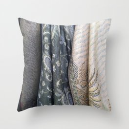 Shades of Grey's Throw Pillow