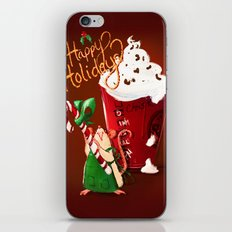 Christmas Rat 2014 iPhone & iPod Skin