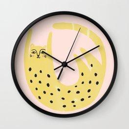 Leopard spot Wall Clock