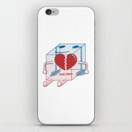 Little Box of Broken Heart iPhone Skin