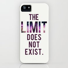 The Limit Does Not Exist - Mean Girls quote from Cady Heron Slim Case iPhone (5, 5s)