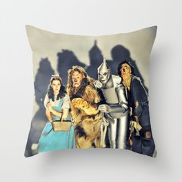 The Cast Throw Pillow