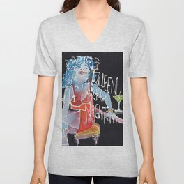 Queen of the Night Unisex V-Neck