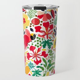 tropical botanical Travel Mug