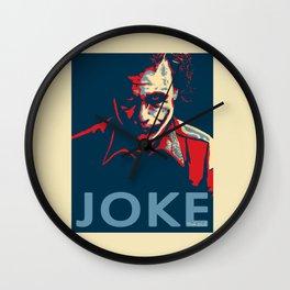 The Joker Wall Clock
