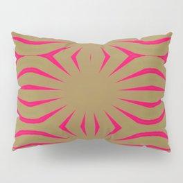 Pinkbrown(blue) Pattern 6 Pillow Sham