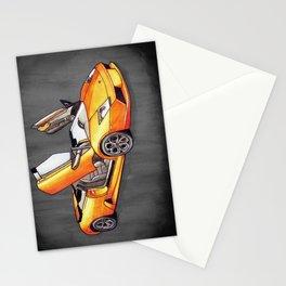 Orange Bull Stationery Cards