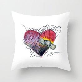 Art Ache Throw Pillow