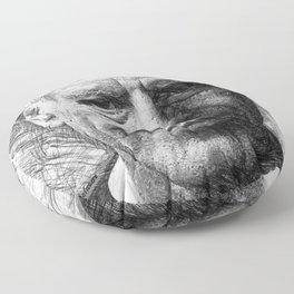 Anthony Bourdain Floor Pillow