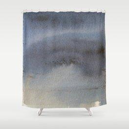 Oil Slick Abstract Art Shower Curtain
