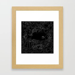The Invisible Framed Art Print
