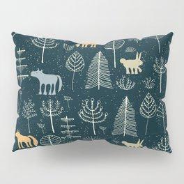 Magic Storybook Northwest Forest Pattern Pillow Sham