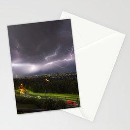 Summer Storm Over Brisbane Stationery Cards