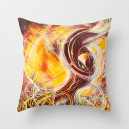 Reconstruction of the Chimera (Zachericle) Throw Pillow