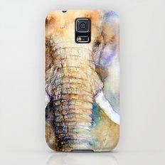 Dream Big Elephant Slim Case Galaxy S5