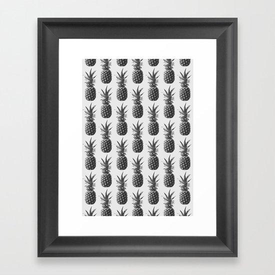 Pineapple Pattern 01 by theoldartstudio