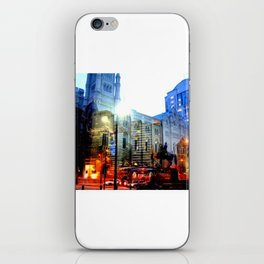 linear city iPhone Skin