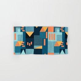 Yellow Klee houses Hand & Bath Towel