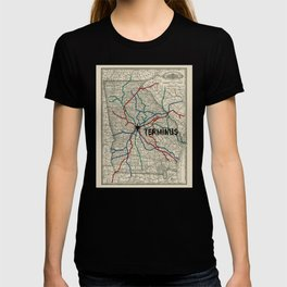 Terminus Map T-shirt