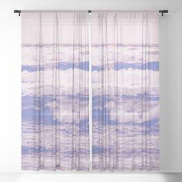 California Girl Beach Sheer Curtain