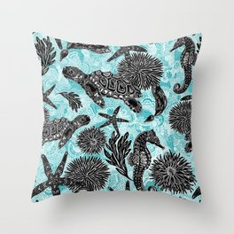 Sea Beauty, Ocean Beauty Throw Pillow