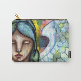 Crying Angel Carry-All Pouch