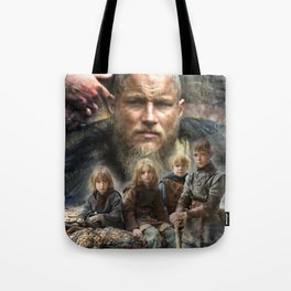 Ragnar and his sons Tote Bag