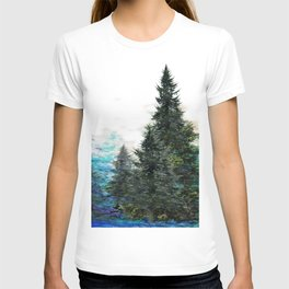 GREEN MOUNTAIN PINES LANDSCAPE T-shirt