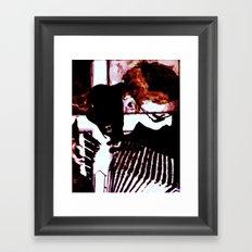 Accordian Framed Art Print