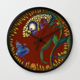 GMO Corn Wall Clock