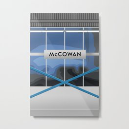MCCOWAN | RT Station Metal Print