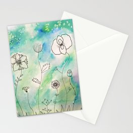 Flower Wonderland Stationery Cards