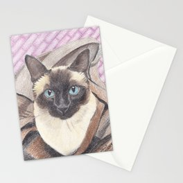 Lula in a bag Stationery Cards