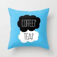 Coffee? Tea? Throw Pillow