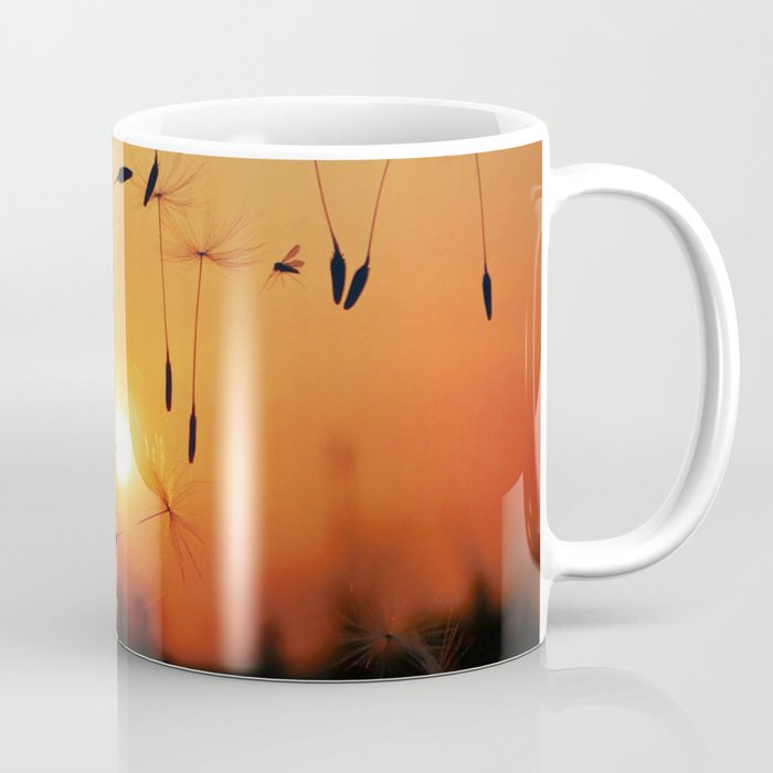 the dance of wishes at sunset Coffee Mug