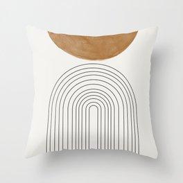 Minimalist Space Throw Pillow