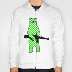 dot bear Hoody
