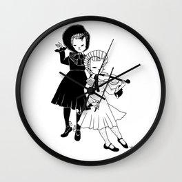 Violin players Wall Clock