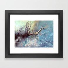 Büyülü Nehir Framed Art Print