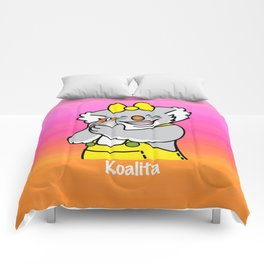 Koalita and the zebra finch Comforters
