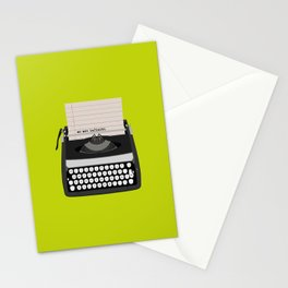 the perks of being wallflower Stationery Cards