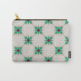 Aquilegia Flower Carry-All Pouch