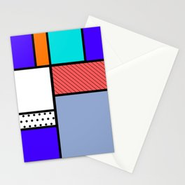 Cube Deco Stationery Cards