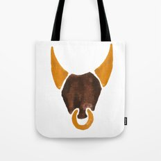 BULL HEAD ILLUSTRATION / SINGLE - SUMMER 2017 Tote Bag