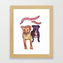 My Bestfriend Framed Art Print