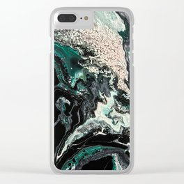 Fluid No. 17 Clear iPhone Case