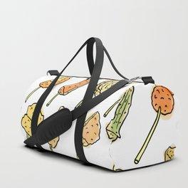 World of Japanese Kushikatsu Skewers Duffle Bag