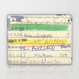 Library Card 3503 Exploring the Moon Laptop & iPad Skin