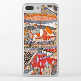 16th Century India Watercolor Painting Clear iPhone Case